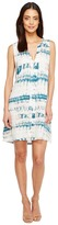 Michael Stars Shibori Print Pleat Front Dress Women's Dress