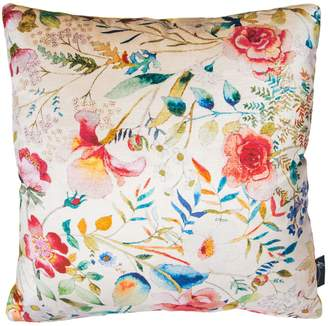 Philip Clay Design English Garden 'Seashell & Sunflower' Velvet Cushion