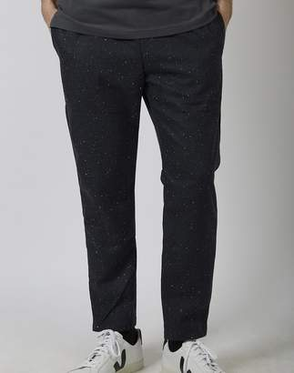 The Idle Man - Neppy Elasticated Waist Trouser Navy