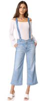 AG Jeans The James Suspender Wide Leg Crop Overalls