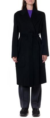 Acne Studios Black Wool & Cashmere Coat