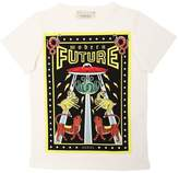 Gucci Modern Future Cotton Jersey T-Shirt