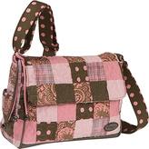 Donna Sharp Pauline Bag Mocha Patch