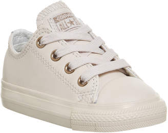 Converse Ox Leather Infant Pastel Rose Gold Exclusive