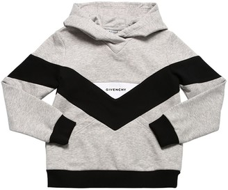 Givenchy Color Block Cotton Sweatshirt Hoodie