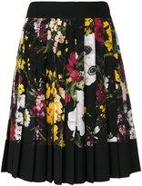 Dolce & Gabbana floral print pleated skirt - women - Silk/Acetate/Viscose - 40
