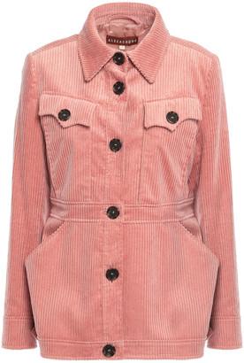 ALEXACHUNG Cotton-blend Corduroy Jacket