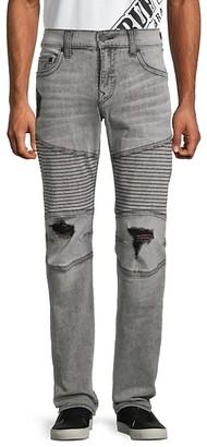 True Religion Moto Slim-Fit Jeans