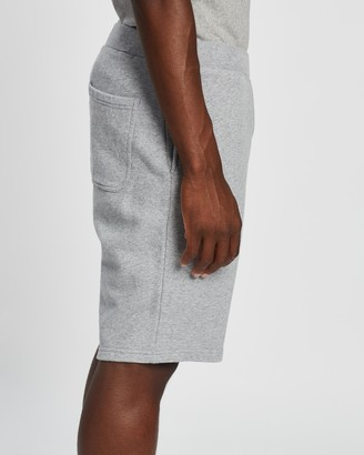 Sunspel Men's Grey Shorts - Loopback Track Shorts - Size L at The Iconic