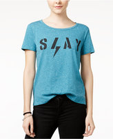 Hybrid Juniors' Slay Graphic T-Shirt