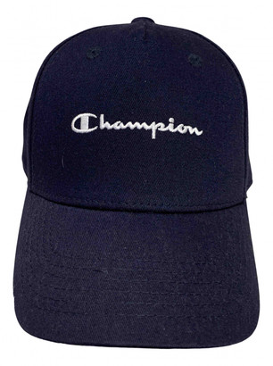 Champion Navy Cotton Hats