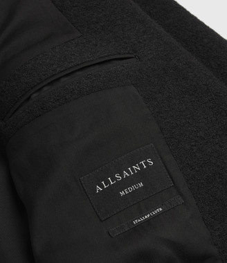 AllSaints Grafton Wool Coat