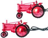 Kurt Adler 10-Bulb Red Tractor Light Set
