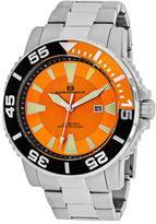 Oceanaut Marletta OC2910 Men's Round Silver Stainless Steel Watch