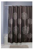 "InterDesign Dandelion Fabric Shower Curtain - 72"" x 72"", Cocoa Brown"