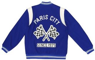 Bonpoint AppliquA varsity jacket
