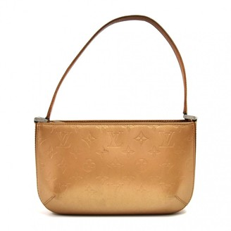 Louis Vuitton Fowler Gold Leather Handbags
