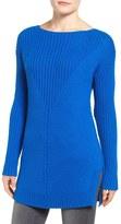 Vince Camuto Rib Knit Sweater (Petite)