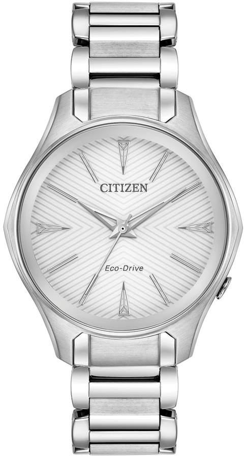 Citizen Eco-Drive Women's Modena Stainless Steel Watch - EM0590-54A