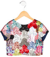 Morley Girls' Sequin Embellished Top w/ Tags