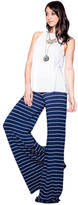 Saint Grace - Moby Stripe Carol Pant In Liberty White