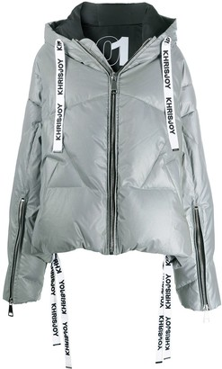 KHRISJOY Reflected Down Puffer Jacket