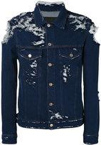 Golden Goose Deluxe Brand distressed denim jacket - men - Cotton - M