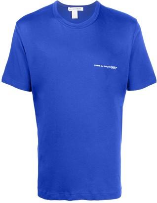 Comme des Garçons Shirt logo print T-shirt