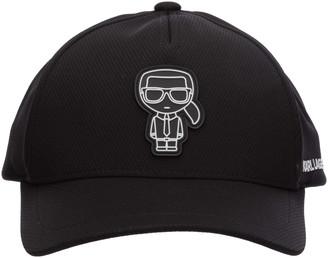 Karl Lagerfeld Paris K/Ikonik Baseball Cap