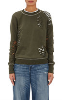 NSF Women's Saguro Distressed Cotton French Terry Sweatshirt
