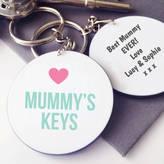Hurley Sarah Personalised Mummy's Keys Keyring