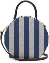 Mansur Gavriel Circle cotton-canvas cross-body bag