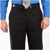 JCPenney Stafford Black Stripe Dress Pants - Portly