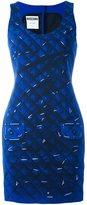 Moschino trompe-l'oeil dress - women - Polyester/Rayon/Triacetate - 40