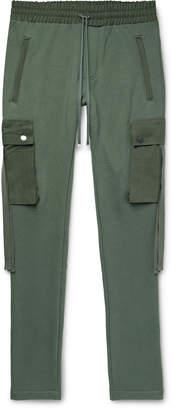 Amiri Slim-Fit Tapered Cotton-Jersey Cargo Sweatpants