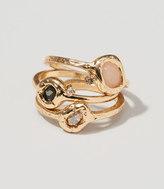 LOFT Cosmic Stone Ring Set