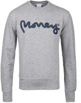 Money Grey Signature Ape Crew Neck Sweatshirt