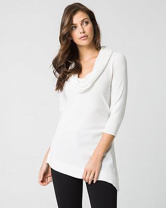 Le Château Viscose Blend Asymmetrical Sweater
