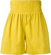 Rochas A-line shorts - women - Cotton/Spandex/Elastane - 42