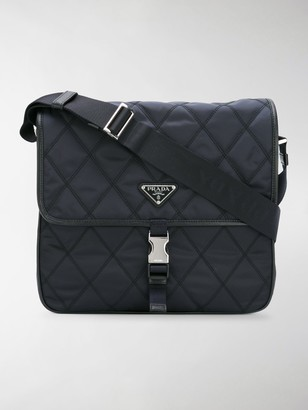 Prada Quilted Messenger Bag