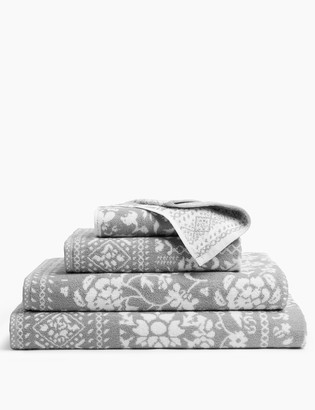 Marks and Spencer Pure Cotton Floral Patchwork Towel