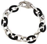 S.O.H.O New York 18K Diamond & Enamel Link Bracelet