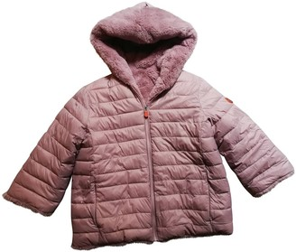 Save The Duck Pink Faux fur Jacket for Women
