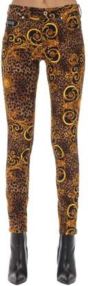 Versace ARCHIVE PRINT SKINNY JEANS