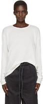 LAUREN MANOOGIAN Off-White Vellum T-Shirt