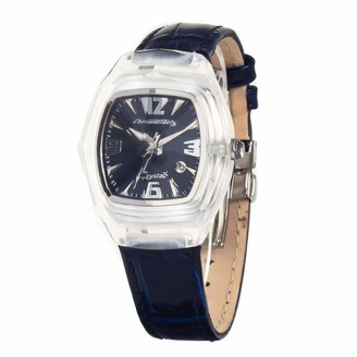 Chronotech Womens Analogue Quartz Watch with Leather Strap CT7888L-03