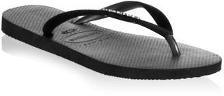 Havaianas Velvet Strap Flip Flops