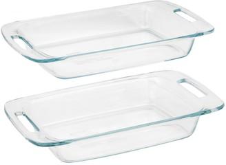 Pyrex Easy Grab 2-pc. Glass Baking Dish Set