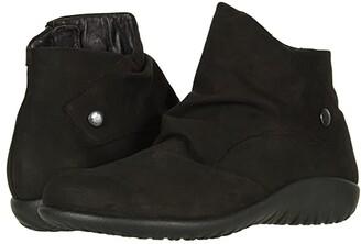 Naot Footwear Kahika (Black Velvet Nubuck) Women's Boots