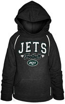 5th & Ocean Girls' New York Jets Raglan Hoodie